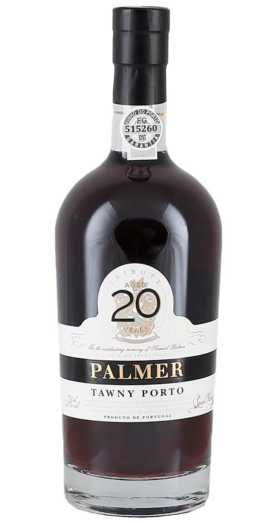 Produktbild zu Palmer 20 Years Old Tawny Port von Barão de Vilar – Palmer