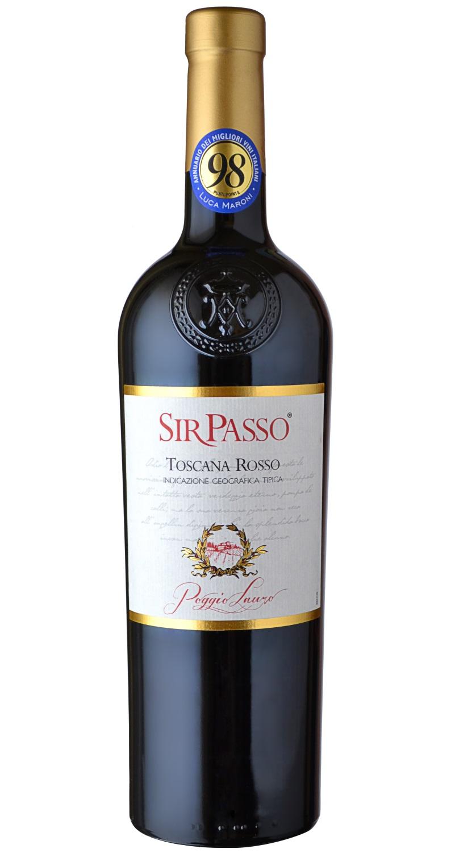 Produktbild zu 6 Fl.-Paket Poggio Lauro Sir Passo Toscana Rosso 2015 inkl. Versandkosten von Poggio Lauro