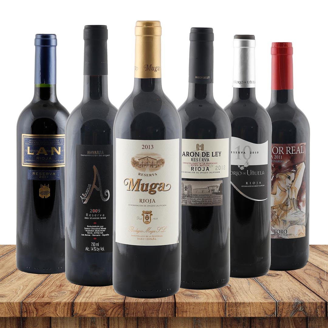 Reserva Favoriten - 6 erlesene Top-Reserva-Wein...
