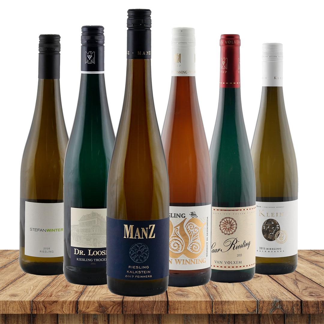 Riesling Favoriten - 6 einzigartige Weine zum E...