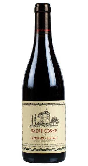 Produktbild zu Saint Cosme Côtes du Rhône Rouge 2019 von Saint Cosme