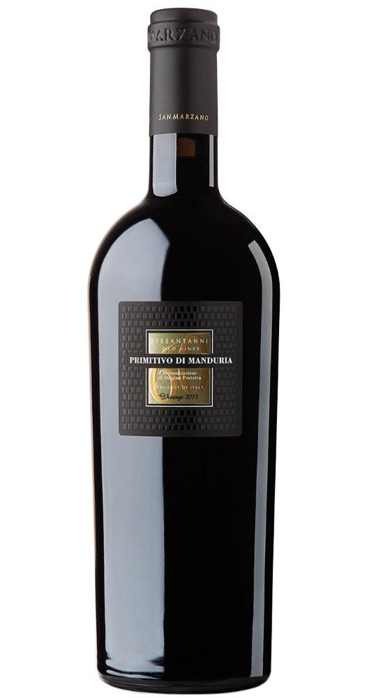 Produktbild zu Doppelmagnum (3,0 L) San Marzano Sessantanni 60 anni Primitivo di Manduria 2016 in 1er OHK von Cantine San Marzano