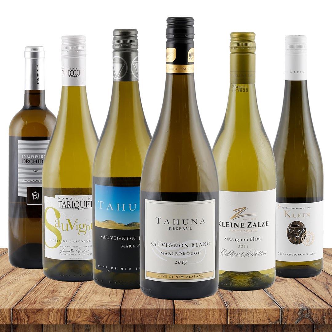 Sauvignon-Genießer-Paket verschiedene Weingüter...