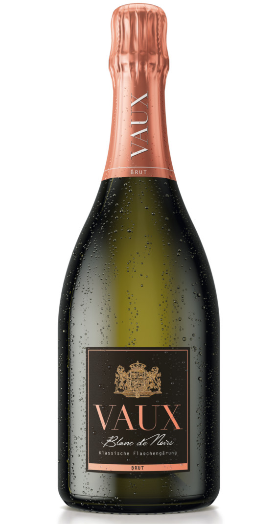 Produktbild zu Schloss Vaux Blanc de Noir Brut 2018 von Schloss VAUX