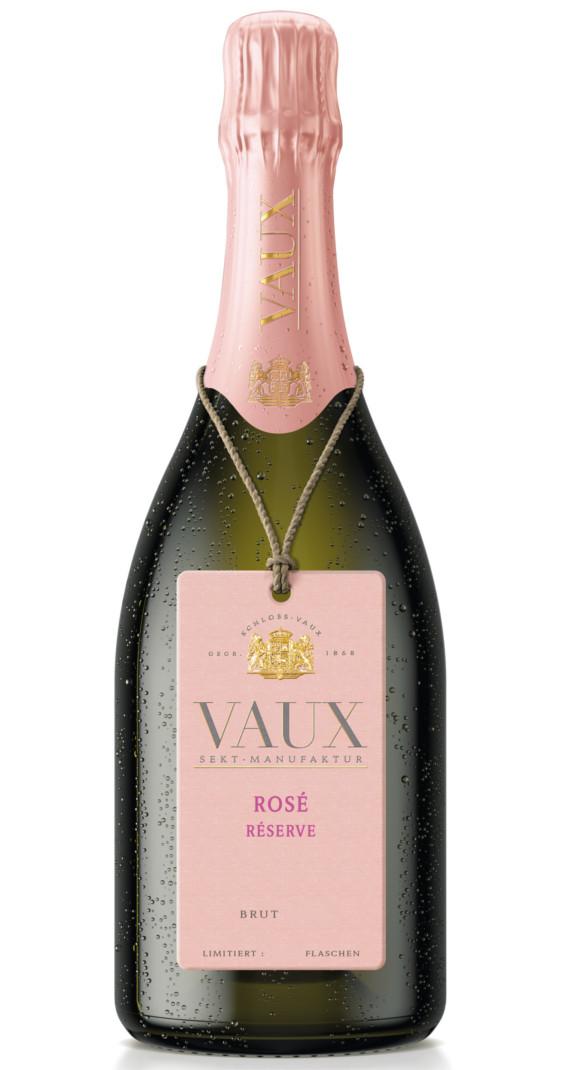 Produktbild zu Schloss Vaux Rosé Réserve 2017 von Schloss VAUX