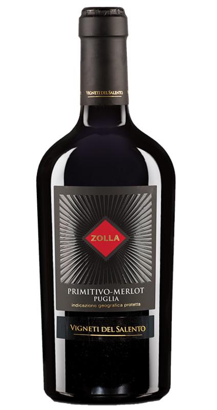 Produktbild zu Vigneti del Salento Zolla Primitivo - Merlot 2018 von Vigneti del Salento