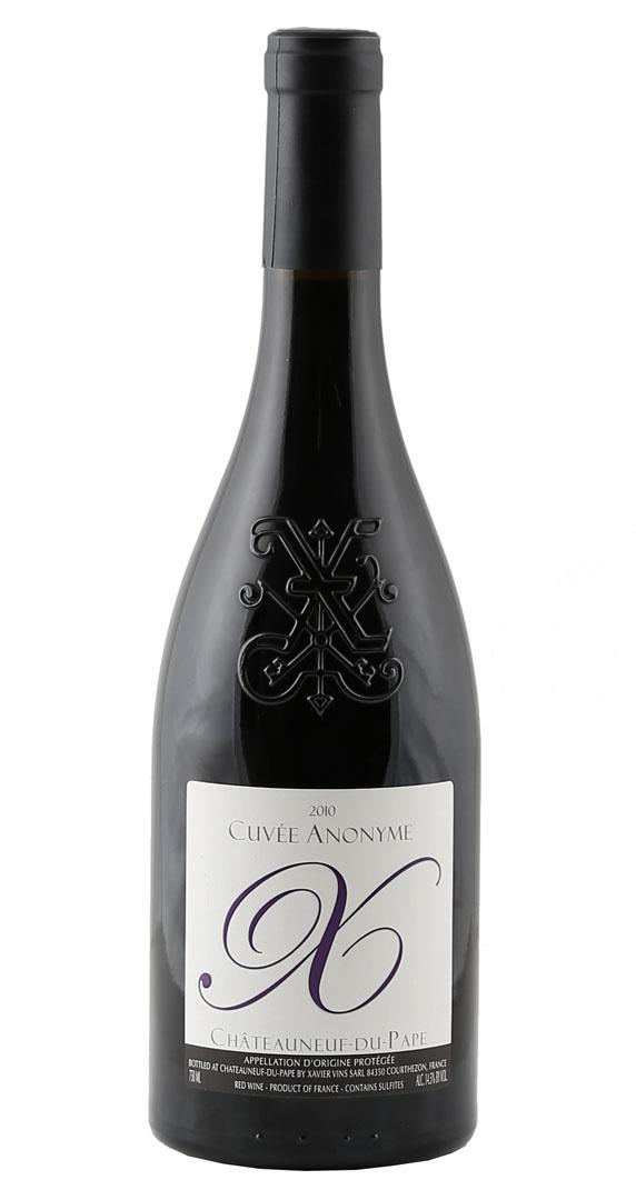 Produktbild zu Xavier Vignon Châteauneuf-du-Pape Rouge Cuvée Anonyme 2017 von XAVIER VINS