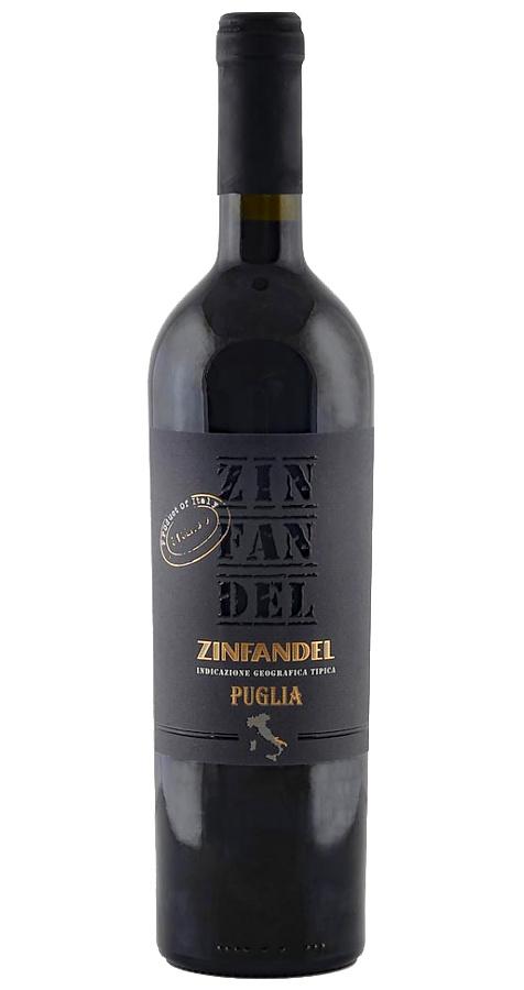 Zinfandel Puglia 2016 Botter 0,75l Rotwein Ital...