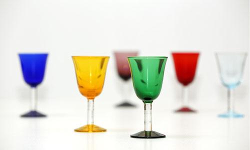 Glaeser aus Murano-Glas