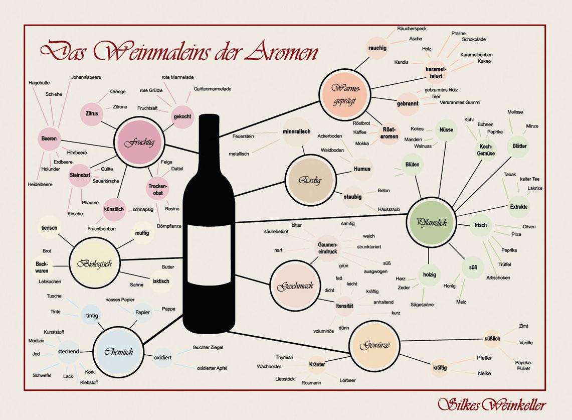 Welche Aromen Kann Ein Wein Haben Silkes Weinblatt