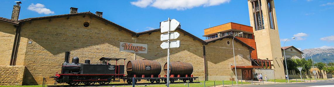Weingueter in Haro: Muga