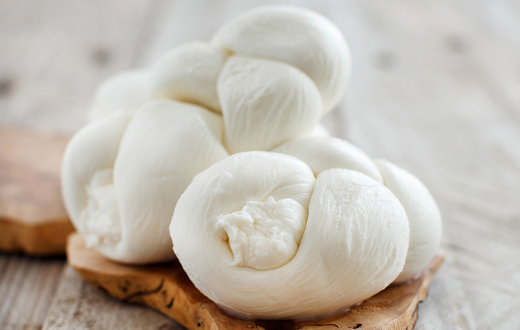 Mozzarella-Zopf