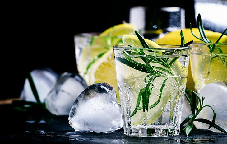 Die Einführung vieler neuer Tonic-Wasser führte zu dem Gin Boom.