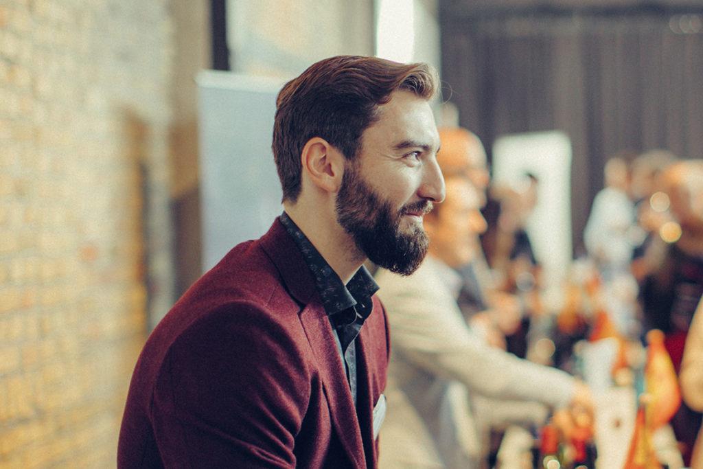 Stanislav Staykov, Einkaufsleiter bei Silkes Weinkeller