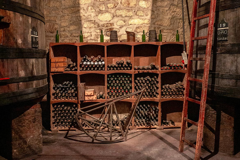 Teil der Weinsammlung von Vina Tondonia   Silkes Weinkeller