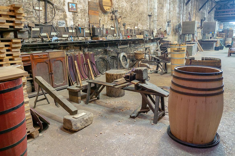 Die Küferei von Vina Tondonia | Silkes Weinkeller