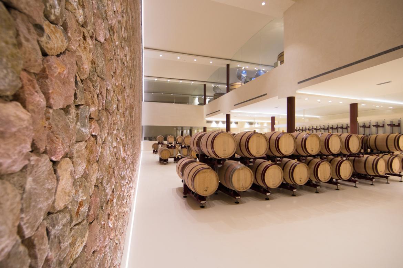 Weinfässer bei Bodega Son Mayol   Silkes Weinkeller